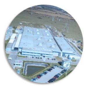 Company building Romania Alba